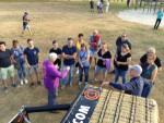 Verbluffende ballon vaart gestart in Uden op woensdag 22 augustus 2018