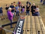 Overweldigende luchtballon vaart over de regio Uden op woensdag 22 augustus 2018