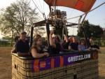 Te gekke ballonvaart opgestegen op startveld Uden op woensdag 22 augustus 2018