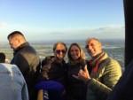 Schitterende ballonvaart opgestegen op opstijglocatie Beesd op woensdag 3 oktober 2018