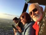 Sublieme ballon vlucht over de regio Beesd op woensdag 3 oktober 2018