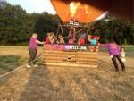 Majestueuze luchtballonvaart omgeving Colmschate woensdag 4 juli 2018