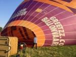 Relaxte ballon vlucht opgestegen op startlocatie Beesd woensdag 4 juli 2018