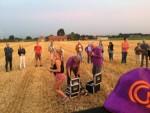 Meesterlijke ballon vlucht vanaf startlocatie Etten-leur woensdag  4 juli 2018