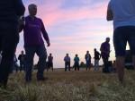 Adembenemende ballon vlucht gestart in Etten-leur woensdag  4 juli 2018