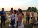 Professionele heteluchtballonvaart opgestegen in Helmond woensdag 4 juli 2018