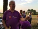 Formidabele luchtballon vaart opgestegen in Helmond woensdag 4 juli 2018