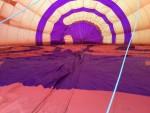 Magnifieke ballon vaart in de buurt van Helmond woensdag 4 juli 2018