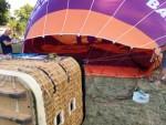 Uitzonderlijke ballonvlucht in de buurt van Helmond woensdag 4 juli 2018
