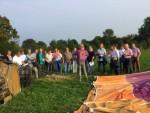 Fabuleuze heteluchtballonvaart opgestegen op opstijglocatie Beesd op woensdag  5 september 2018
