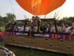 Feestelijke ballon vlucht gestart op opstijglocatie Beesd op woensdag  5 september 2018