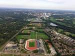 Sublieme heteluchtballonvaart startlocatie Hengelo op woensdag  5 september 2018