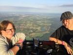 Geweldige ballonvlucht in de regio Breda op zaterdag  1 september 2018