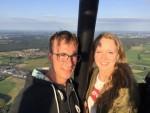 Weergaloze luchtballon vaart in de omgeving van Breda op zaterdag  1 september 2018