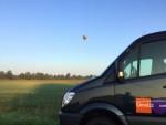 Verbluffende ballon vlucht opgestegen op startveld Enschede op zaterdag  1 september 2018