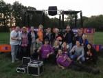 Verbluffende heteluchtballonvaart regio Hengelo op zaterdag  1 september 2018