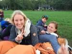 Feestelijke luchtballonvaart gestart in Hengelo op zaterdag  1 september 2018