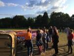 Sublieme ballonvaart boven de regio Hengelo op zaterdag  1 september 2018
