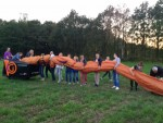 Ongeëvenaarde ballon vlucht over de regio Hengelo op zaterdag  1 september 2018