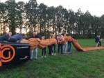 Geweldige luchtballonvaart vanaf startveld Hengelo op zaterdag  1 september 2018