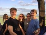 Grandioze luchtballon vaart opgestegen op opstijglocatie Beesd op zaterdag  1 september 2018