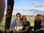 Verbluffende luchtballonvaart vanaf startlocatie Beesd op zaterdag  1 september 2018
