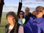 Uitzonderlijke ballonvlucht startlocatie Beesd op zaterdag  1 september 2018
