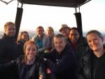 Overweldigende ballon vlucht in de omgeving van Holten op zaterdag  1 september 2018