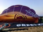 Verrassende ballonvlucht startlocatie Holten op zaterdag  1 september 2018