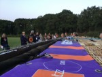 Hoogstaande ballonvlucht opgestegen op startveld Holten op zaterdag  1 september 2018
