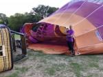 Plezierige ballon vaart vanaf startlocatie Tilburg op zaterdag 1 september 2018