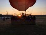 Ongelofelijke mooie ballon vlucht in de regio Tilburg op zaterdag 1 september 2018