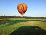 Uitmuntende ballonvlucht boven de regio Tilburg op zaterdag 1 september 2018
