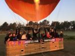 Verbluffende ballon vaart opgestegen op startlocatie Tilburg op zaterdag 1 september 2018