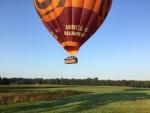 Comfortabele ballonvaart boven de regio Tilburg op zaterdag 1 september 2018