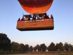 Relaxte ballon vlucht omgeving Tilburg op zaterdag 1 september 2018