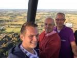 Comfortabele ballonvaart startlocatie Apeldoorn op zaterdag 11 augustus 2018
