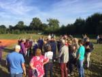 Bijzondere luchtballon vaart opgestegen op startlocatie Beesd op zaterdag 11 augustus 2018