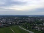 Onovertroffen ballonvlucht opgestegen op startlocatie 's-hertogenbosch zaterdag 12 mei 2018