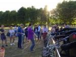 Jaloersmakende ballonvlucht gestart in Eindhoven zaterdag 14 juli 2018