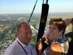 Ongelofelijke mooie heteluchtballonvaart gestart in Eindhoven zaterdag 14 juli 2018