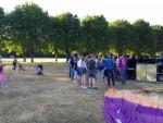 Fenomenale ballon vaart gestart op opstijglocatie Eindhoven zaterdag 14 juli 2018