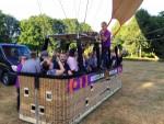 Spectaculaire ballon vaart vanaf opstijglocatie Eindhoven zaterdag 14 juli 2018