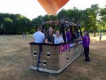 Majestueuze ballonvlucht gestart op opstijglocatie Eindhoven zaterdag 14 juli 2018