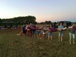 Magnifieke heteluchtballonvaart in de regio Eindhoven zaterdag 14 juli 2018