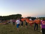 Hoogstaande ballonvlucht gestart op opstijglocatie Eindhoven zaterdag 14 juli 2018