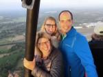 Fabuleuze luchtballonvaart omgeving Enschede zaterdag 14 juli 2018