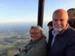 Feestelijke ballon vaart opgestegen op startveld Enschede zaterdag 14 juli 2018