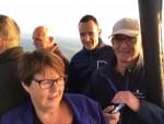 Overweldigende ballonvlucht opgestegen op opstijglocatie Enschede zaterdag 14 juli 2018