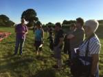 Weergaloze luchtballon vaart startlocatie Ven-zelderheide zaterdag 14 juli 2018